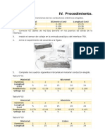 Procedimiento de Calculo en Resistividad de Calculo