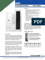 Mircom 500-P72 Data Sheet