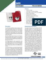 Mircom FHS340R Data Sheet