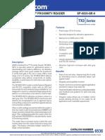 Mircom SP-6820-GR-0 Data Sheet