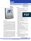 Mircom TX3-TOUCH-F15-A Data Sheet