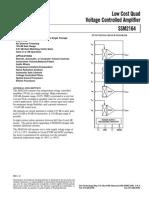 Ssm 2164 Data Sheet
