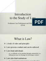 Intro to Study of Law 2014 - Knutsen-Dufraimont