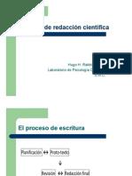 Presentación proceso escritura científica