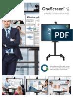 OneScreen h2 Cut Sheet June 2015