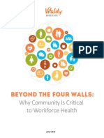 Beyond The Four Walls Report
