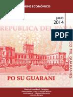 Informe Economico Mensual Julio 2014