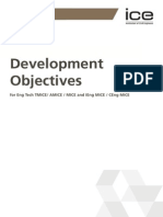 ICE 3005A-Development Objectives