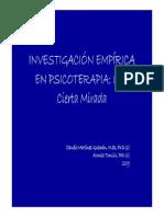 Clase 01 Julio INVESTIGACIÓN EMPÍRICA EN PSICOTERAPIA _(2009_).pdf