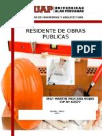 Residente de Obras Publicas