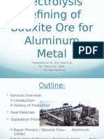 Bauxite Ore to Aluminum Metal