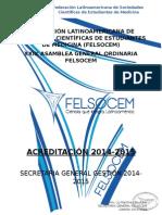Formulario de Secretaria General
