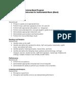 essential outcomes - band grades 5-8