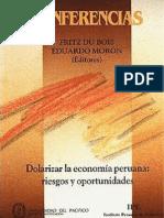 101881639 2000 Dolarizar La Economia Peruana Riesgos y Oportunidades