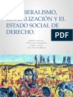 Neoliberalismo, Globalización y El Estado Social De