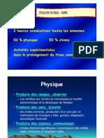présentation spé physique chimie