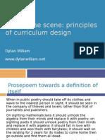 Principles of Curriculum