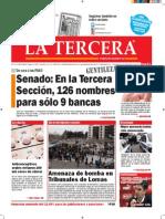 Diario La Tercera 06.07.2015