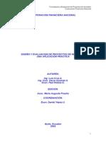Libro Proyectos CFN