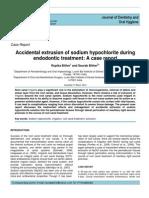 Accidente in Cazul Utilizarii Hipocloritului de Sodiu