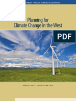 Planning for Climate Change in the West