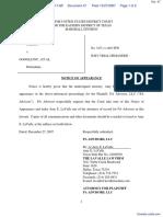 PA Advisors, LLC v. Google Inc. et al - Document No. 47