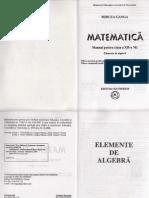 Manual Algebra Clasa 12