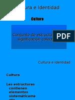 Cultura e Identidad - factores identitarios