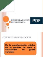 Deshidratación Hipertónica