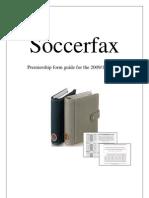 Soccerfax 2009-10