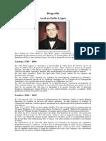 Biografía Andres Bello