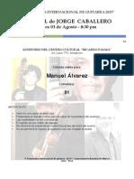 Entrada Recital J. Caballero IX 11