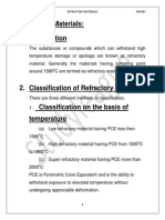 Refractories T1 Theory