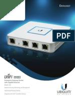 UniFi Security Gateway DS