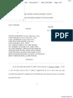 VASQUEZ v. NICKEL et al - Document No. 1