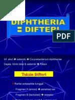 Kuliah Difteri, Pertusis, Tetanus