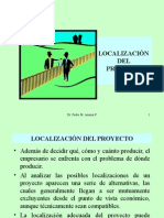 6. Localización Del Proyecto