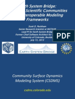 Scott Peckham - Spanning Scientific Communitieswith Interoperable Modeling Frameworks