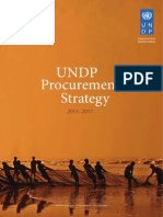 UNDP Procurement Strategy 2015-17