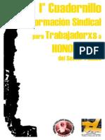 I° Cuadernillo de Formacion Sindical para Trabajadorxs a Honorarios del Sector Público