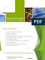tarrant county community and health assessment powerpint