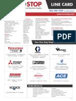 MROStop 2015 LineCard