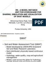 Mohammad Adnan Rajib - SWATSHARE–A MODEL INSTANCE PROGRAM CLIENT FOR HYDROSHAREFOR SHARING, SIMULATION AND VISUALIZATION OF SWAT MODELS