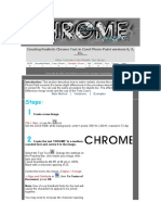 Complex Chrome Tutorial