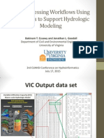 Bakinam T. Essawy and Jonathan L. Goodall - Post-processing Workflows Using Data Grids to Support Hydrologic Modeling