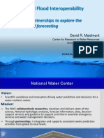 David Maidment - The National Flood Interoperability Experiment