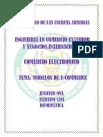 Modelos de Comercio Electronico_comercio Electronico_jeniffer Oña