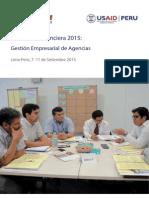 Academia Financiera 2015 _ Brochure