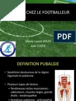 Pubalgie Chez Le Footballeur
