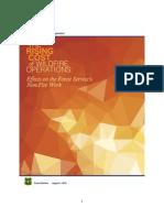2015 Fire Budget Report